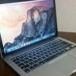 MacBook Pro Retinaディスプレイ 2900/13.3 MF841J/Aスペック・アプリケーション